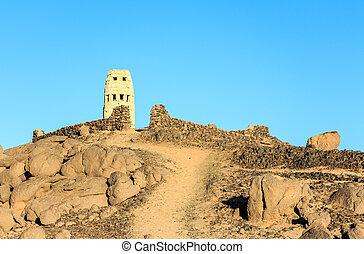 tour, bedouins, village