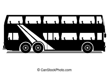 Tour Bus, vector