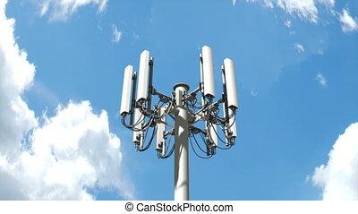 """tour, """"cell, tower"""", télécommunication, mobile"""