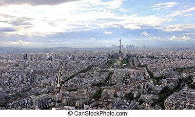 Tour Eiffel time lapse