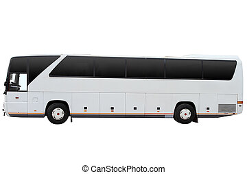 tour, moderne, autobus