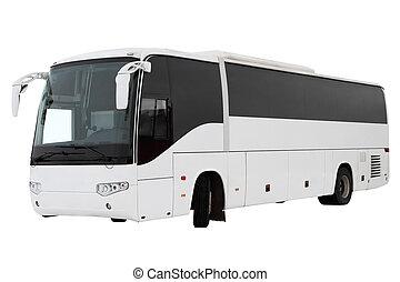 tour, moderne, bus.