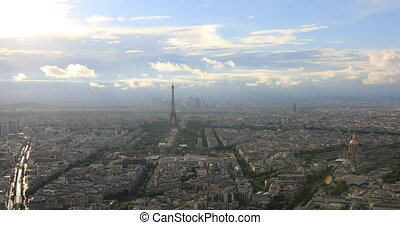 Tour Montparnasse Parisian panorama - Parisian panorama...