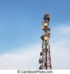 tour, télécommunication