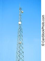 tour téléphone portable, antenne