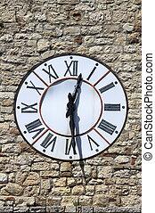 tour,  Todi, horloge