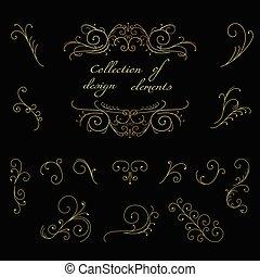 tourbillon, éléments décoratifs