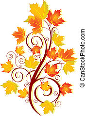 tourbillon, automne