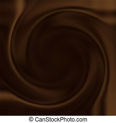 tourbillon, chocolat