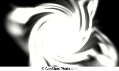 tourbillon, lumière, blanc, éblouissant, rayon