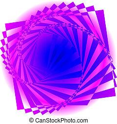 tourbillon, résumé, image., coloré