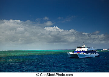 Touring the Great Barrier Reef in Australia