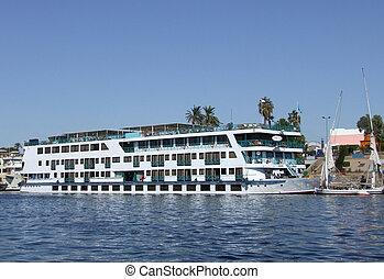 passenger ship on the Nile