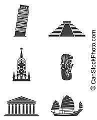 Tourism Symbol Sign