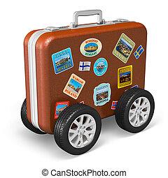 tourisme, voyage, concept