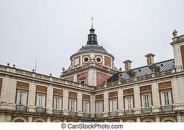 tourism..royal, hiszpania, madryt, pałac, aranjuez