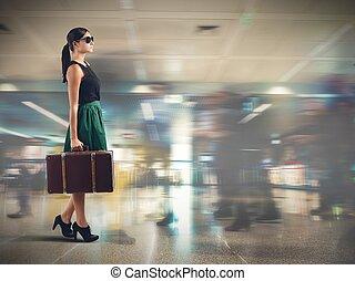 Tourist airport