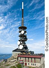Tourist attraction in Bergen city on mount Ulrikken
