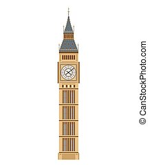 Big Ben Tourist attraction. Travel, journey concept. Famous monuments of world countries.