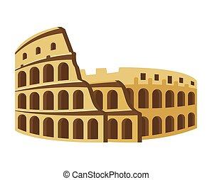 Colosseum. Travel, journey concept. Vector illustration EPS10