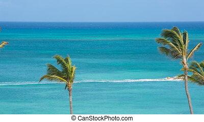 Tourist beach attraction, Aruba - Tourist attraction on the...