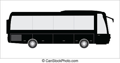 tourist bus with special design