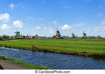 Tourist Destination in Zaanse Schans