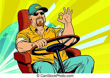 Tourist driver, international transport