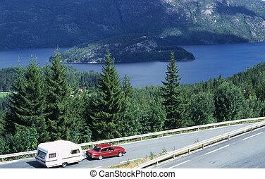 Tourist - From Kviteseid in Telemark in Norway.