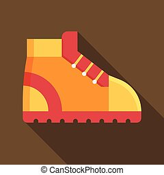 Tourist Hiking Boot Icon