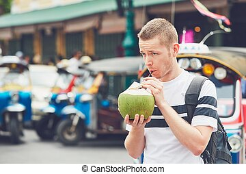 Tourist in Bangkok