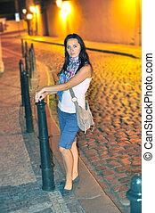 Tourist in Prague City