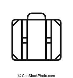 tourist luggage vector illustration design