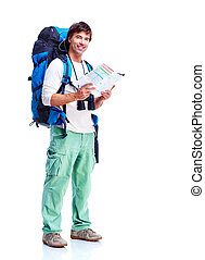 tourist, mann