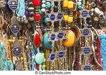 tourist souvenirs in jerusalem israel