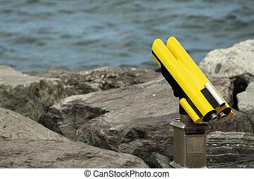 Tourist stationary binocular