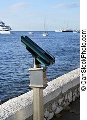 Touristic binocular