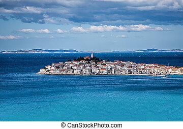touristic, croatia, primosten, 有名, 目的地