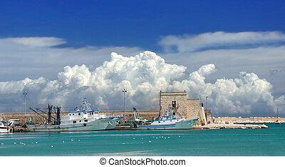 Touristic port.