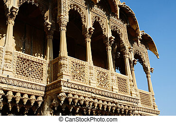 touristic, rajasthan, インド, 人気が高い, 州, ランドマーク