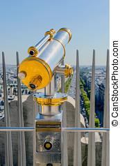 Touristic telescope Paris