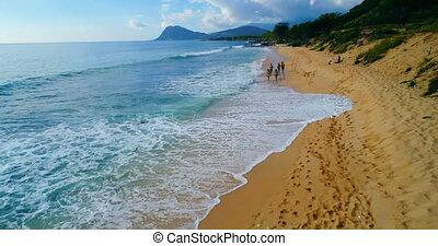 Tourists enjoying at beach 4k - Tourists enjoying at beach...