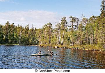 gulf of northern lake