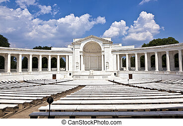 Memorial Amphitheater at Arlington National Cemetery -...