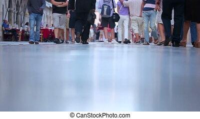 Tourists People walking Stradun
