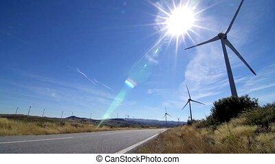 tourner, éoliennes
