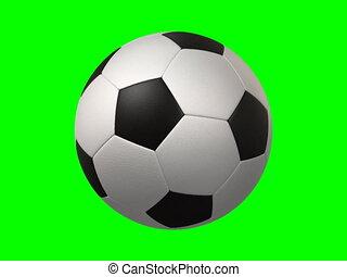 tourner, boule football