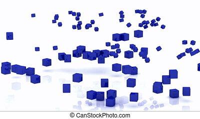 tourner, fi, cubes, wi