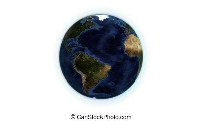 tourner, itself, la terre