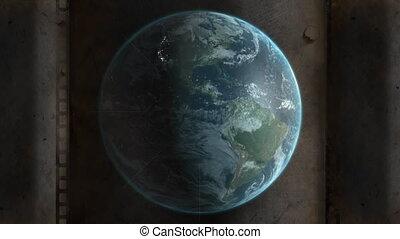 tourner, la terre